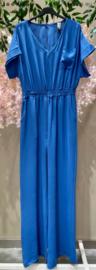 OYSHO jumpsuit royal blue