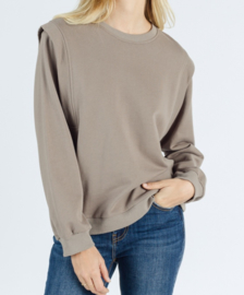 JADE sweater taupe