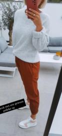YARA boyfriend pants brick