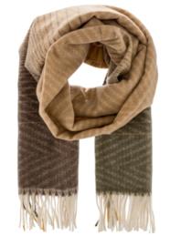 ZIZI scarf soft camel