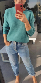 MAGGIE supersoft sweater green