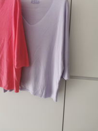 SUMMER SOON sweater lilac