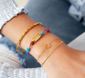 LOVE ALL AROUND bracelet gold