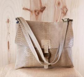 CALZONE handbag beige