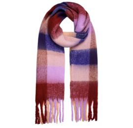 COLDER DAYS scarf aubergine