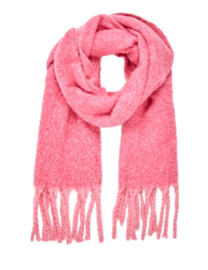 COZY scarf pink