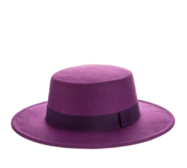 BUYorCRY autumn hat purple