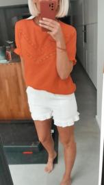 FANNIE tetra short white