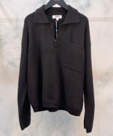 MARLA sweater mêlée black