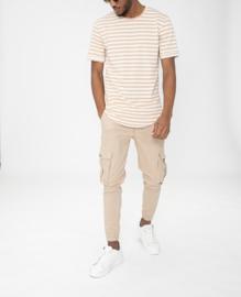 STEVE cargo jogger pants beige