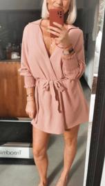 MEGAN Beach wrap dress / kimono pink