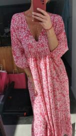 DAISY loose maxi dress fuschia