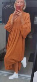 AUTUMN NORA maxi dress camel