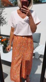 ORCHID skirt orange