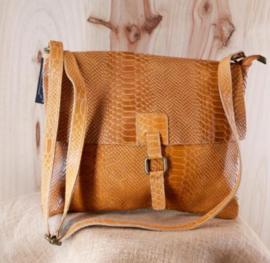 CALZONE handbag camel