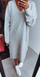 SARA knit dress grey