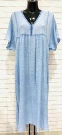 KRISTINE maxi tetra dress blue jeans
