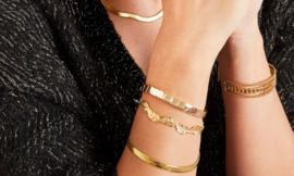 CLASSY bracelet gold