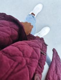 THE PERFECT AUTUMN jacket aubergine