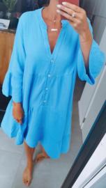 SALITA tetra dress blue