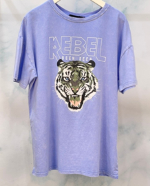 EYE OF THE TIGER tee blue