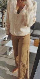 LINDE jeans dark beige