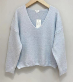 MARTHE super soft sweater sky blue