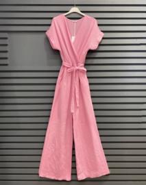 ROSA tetra jumpsuit pink