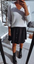 MILA tetra skirt black