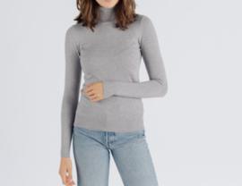 MANDIE turtleneck sweater grey