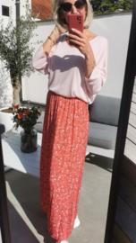 ROSES skirt soft red