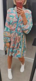 BOHO CHIQUE flowy dress fresh mint