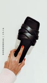 LONGING FOR SLETSKES slippers black