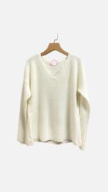 AUDREY sweater ecru