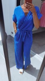 ROSA tetra jumpsuit royal blue