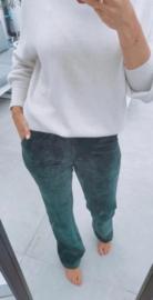 MURRAY corduroy elastic pants green