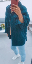 THE PERFECT AUTUMN jacket teal