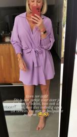 MEGAN Beach wrap dress / kimono lilac
