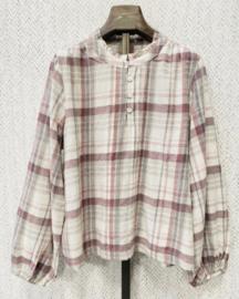 MELANIE cotton blouse old pink