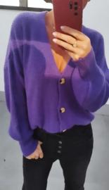 BUYorCRY cardigan purple