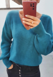 BUYorCRY sweater teal