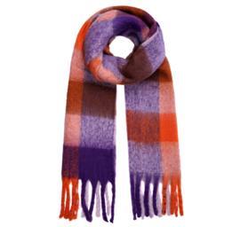 COLDER DAYS scarf purple