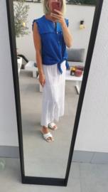 BRENDA tetra skirt white