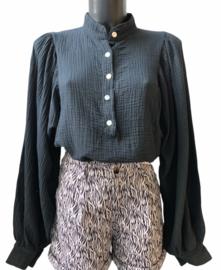 BIBA tetra blouse black
