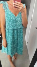 MARLIN summer dress fresh green