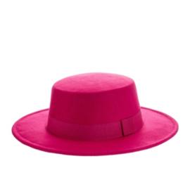 BUYorCRY autumn hat fuschia
