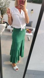 BRENDA tetra skirt royal green