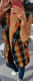 CECE waistcoat jacket green