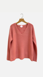 AUDREY sweater pink