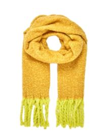COZY scarf yellow